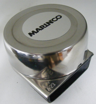 AFI / Marinco Mini Compact Electric Boat Horn- Stainless Steel Marine 10035  MD