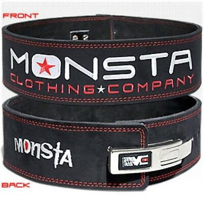 Monsta Clothing Weight Lifting Belt Bodybuilding Workout, Squats, Deadlifts