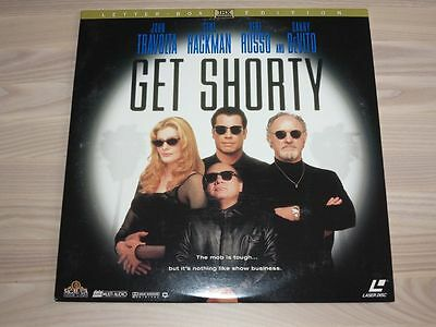 GET SHORTY LETTERBOXED EDITION LASERDISC  LD in MINT