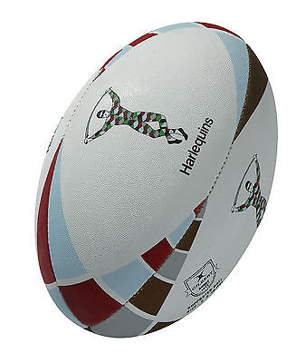 Gilbert Harlequins Supporter Rugby Ball