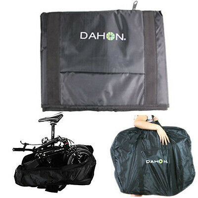 14''-20'' Thick Bike Bicycle Folding Bike Carrier Bag Carry Bag Pouch Black
