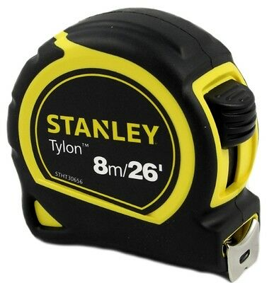 Stanley Tylon 8m / 26' Measuring Tape Feet Inches  Metric & Imperial Tape