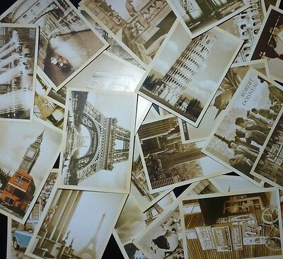 Lot of 32 Old Memories Forever Western Architecture Memories Vintage Postcards