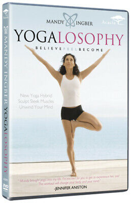 Mandy Ingber: Yogalosophy DVD (2011) Mandy Ingber ***NEW***