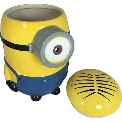 Despicable Me - Stuart Ceramic Cookie Jar With Lid - New & Official In Box
