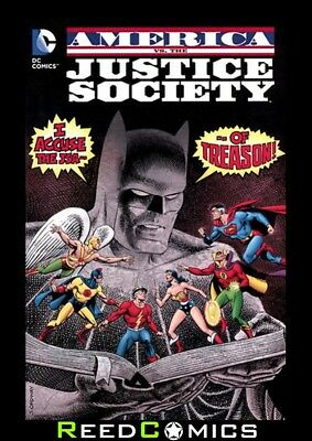 AMERICA vs THE JUSTICE SOCIETY OF AMERICA GRAPHIC NOVEL New Paperback