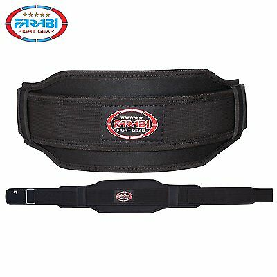 Fitness Back support Weight Lifting Belt Gym Training Workout Body Building 6""