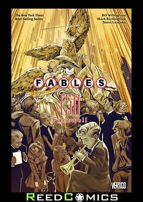 FABLES VOLUME 22 FAREWELL GRAPHIC NOVEL New Paperback Collects #150 + Extras