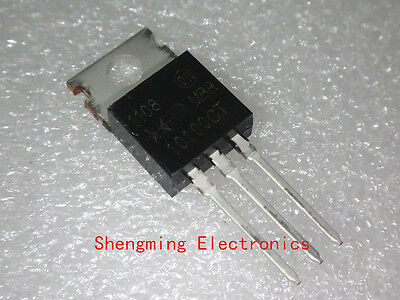 10PCS B10100G MBR10100CTG MBR10100CT TO-220 Schottky diode