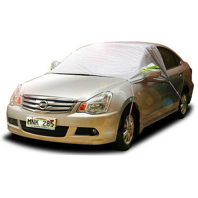 Waterproof Freezing Frost Snow Ice Sun Dust Hook Up Car Windshield Cover Protect