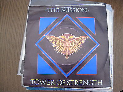 "Mission - Tower Of Strength / Fabienne / Breathe - 7""ps Uk 1987"