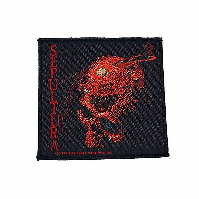 Sepultura Beneath The Remains Woven Patch Official Merchandise