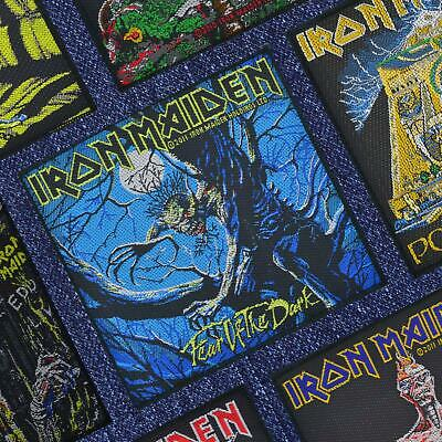 Iron Maiden Fear Of The Dark Woven Patch Official Merchandise