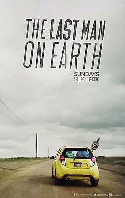 """THE LAST MAN ON EARTH 11""""x17"""" Original Promo TV Poster SDCC 2015 MINT Will Forte"""