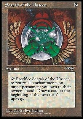 4x Scarabeo dell'Invisibile - Scarab of the Unseen MTG MAGIC ALL Ita/Eng