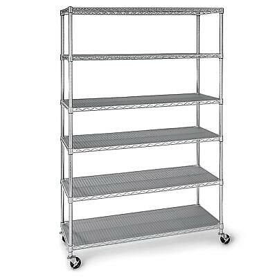 Seville Commercial Industrial Storage Shelving - 6 levels FREE SHIPPING- NEW