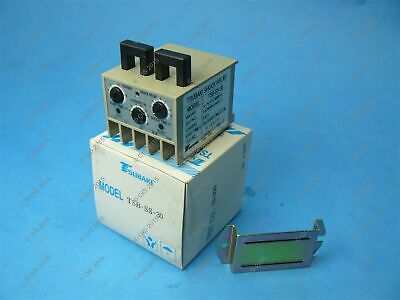 Tsubaki TSB-SS-30 Shock Relay 3 To 30 Amp 90-250 VAC 0.2-30 Sec Start New