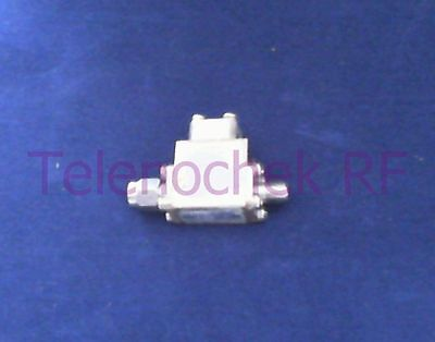 RF microwave single junction isolator 6000 MHz - 9750 MHz /  20 Watt / data
