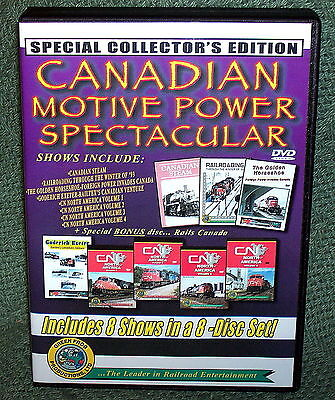 "20229 Train Video Dvd Box Set ""canadian Motive Power Spectacular"""