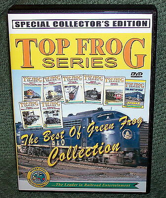 "20234 Train Video Dvd Box Set ""top Frog Series"" Collectors Edition"