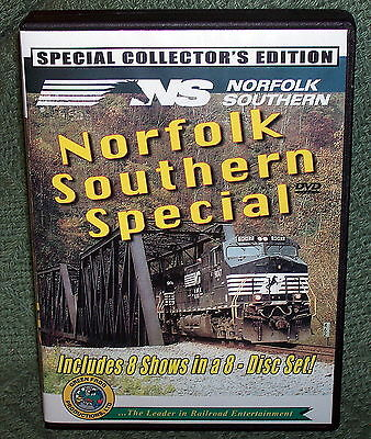 "20236 Train Video Dvd Box Set ""norfolk Southern Special"""