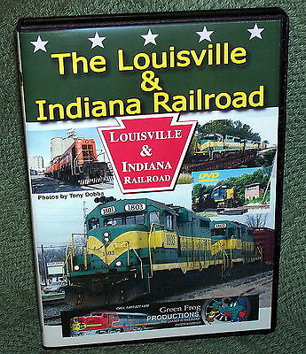 "20297 Train Video Dvd ""the Louisville & Indiana Railroad"""