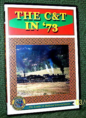 "cp068 TRAIN VIDEO DVD ""THE CUMBRES & TOLTEC"" 1973 FALL SPECTACULAR"