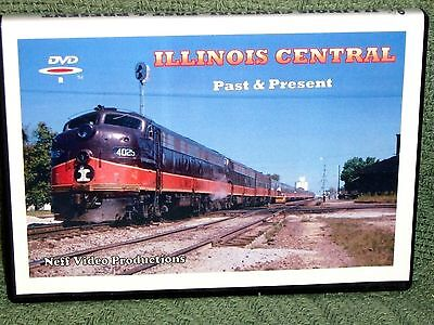 "n009 TRAIN VIDEO DVD ""ILLINOIS CENTRAL - PAST & PRESENT"""