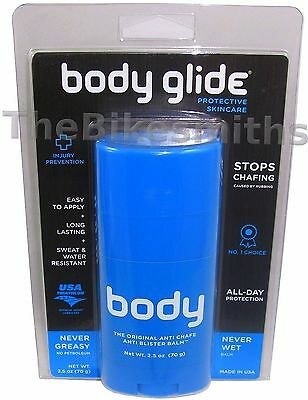 BodyGlide Anti-Chafe Balm Large 2.5oz Anti-Chafing/Blisters Running Cycling AB2