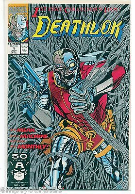 Deathlok #1 Marvel Comics New 1st Print Bagged &Carded nm/mint from 1991