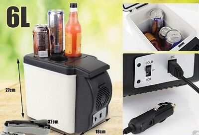 Mini Fridge 6L Cooler Warmer Boat Car Refrigerator