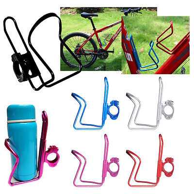 Aluminum Cycling Bike Bicycle Water Drink Bottle Mount Holder Rack Cage Adapter