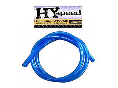 "HYspeed PVC Fuel Gas Line 5/16"" ID X 7/16"" OD 3' Blue ATV Motorcycle Yamaha"
