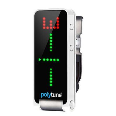 TC Electronic Polytune Polyphonic Clip-On Tuner - The Finest Clip-On Tuner
