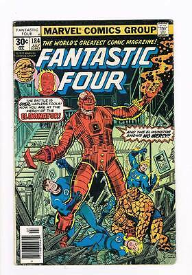 Fantastic Four # 184 Mercy of the Eliminator ! grade 3.5 scarce hot book !