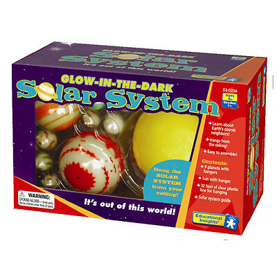 Learning Resources Glow-in-the-Dark Solar System NEW