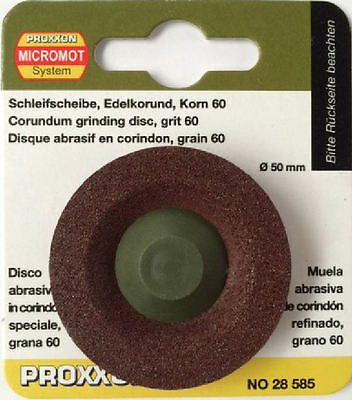 Proxxon LWS Grinding disc 60 grit 28585 / Direct from RDGTools