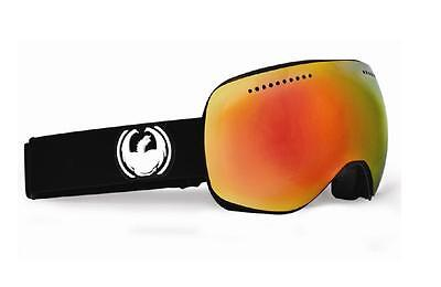 Dragon APXS Frameless Snow Goggles Coal - Red Ionized Lens