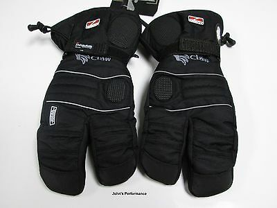 Choko Storm Nylon Snowmobile Claw Gloves Removable Liner S M L XL 2XL 236000