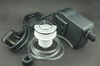 Air Switch button & Plug,For Massage Chair/Spa/Waste Garbage disposal,220-380V
