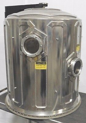 C118068 Applied Materials AMAT 8100B Water-Cooled Bell Jar Vacuum Chamber