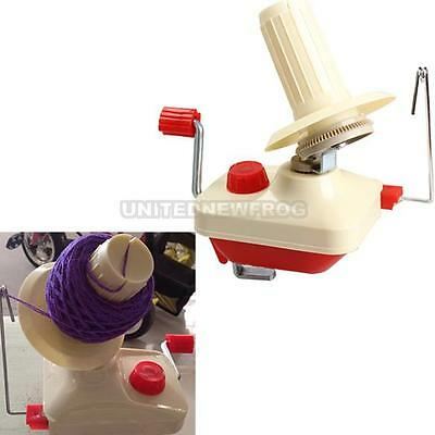 UN3F Swift Yarn Fiber String Ball Wool Winder Holder Hand Operated New