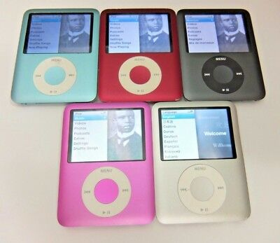 Apple ipod Nano 3rd Generation 4, 8 GB 30 Day Warranty