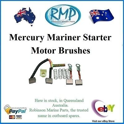 A Brand New Set Of Starter Motor Brushes Suits Mercury Mariner  # R 385952