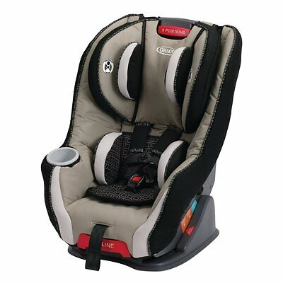 NEW! Graco Size4Me 65 Convertible Car Seat with 3 Recline Positions (Pierce)