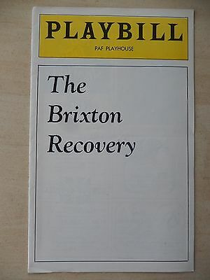 1976 - PAF Playhouse Theatre Playbill - The Brixton Recovery - Leo Burmester