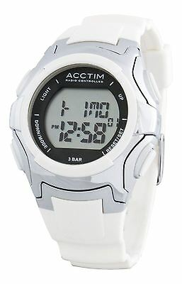 Acctim 60302 Ladies COLARA Radio Controlled Watch (White) 30M Water Resistant
