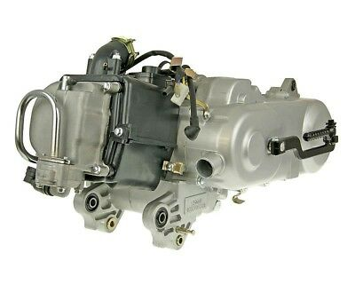 Engine complete 50cc GY6 China 4-stroke 139QMA (with SLS) - Huatian-HT50QT-16