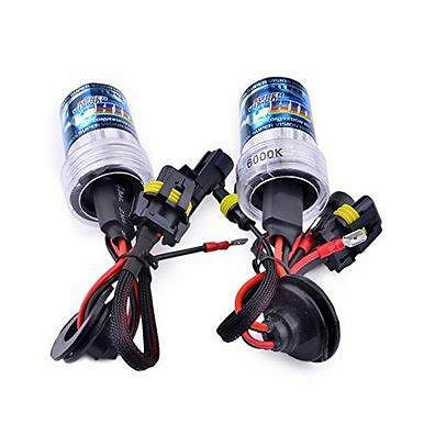 55w H7R Reflector 6000k Ice White Aftermarket HID Kit AC Bulbs *Bulbs Only*