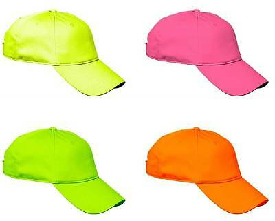 Cool Baseball Cap - Sports Workout Gym Exercise Running Fitness Neon Fluorescent